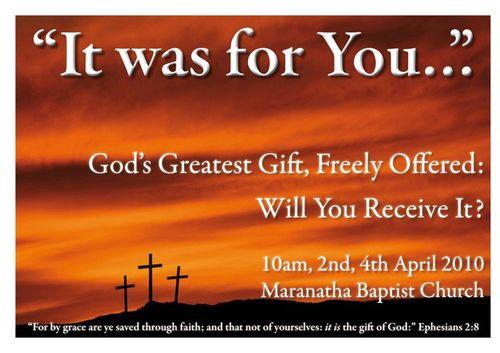 Resurrection service 2010