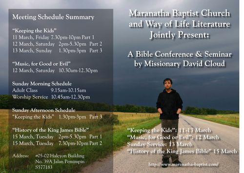 David cloud 2011 seminar