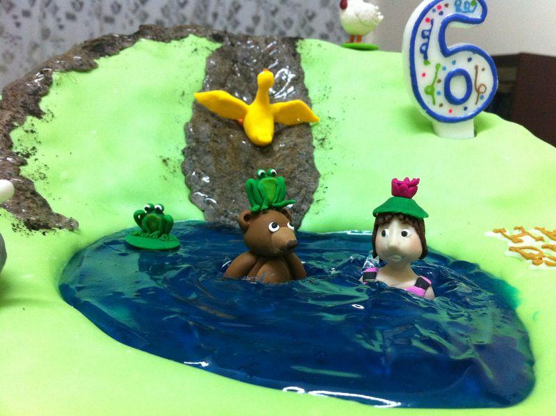 Hop frog pond