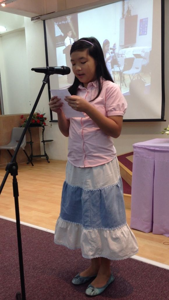 Dear Daughter's Testimony of Salvation