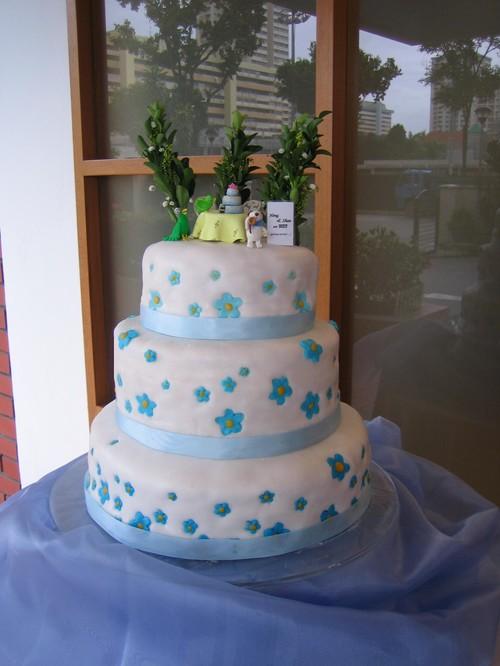 Heng and Shan's Cartoonish Cake