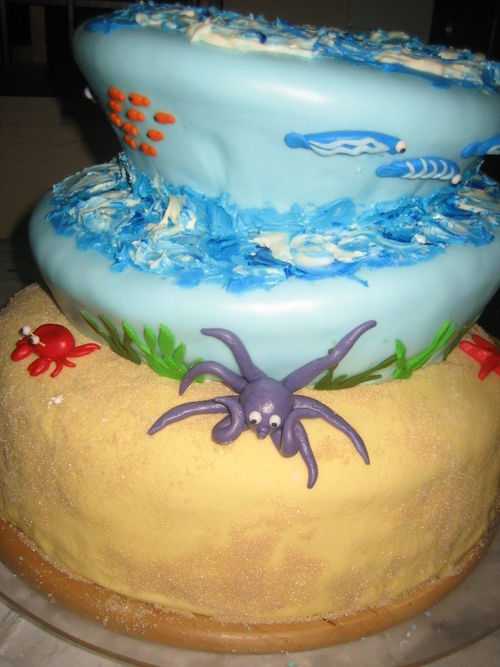 Under the Sea Wedding Cake!