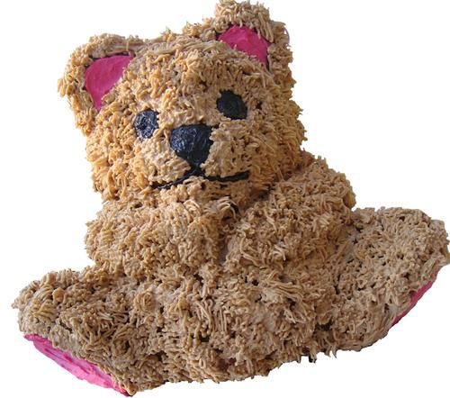Cuddley Bear will accompany you for any special occasion!