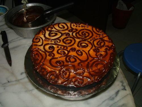 Elegant Chocolate Swirls