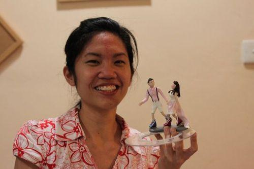 Carol, Sculpey Topper Artist